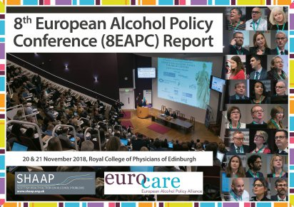 Report from the 8th European Alcohol Policy Conference, Edinburgh 20-21 November 2018